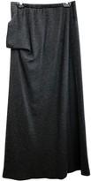 Ann Demeulemeester Grey Wool Skirt for Women