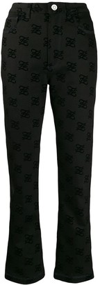 Fendi Karligraphy Jeans