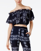Endless Rose Cropped Off-The-Shoulder Top