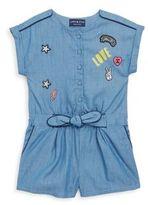 Andy & Evan Toddler's, Little Girl's & Girl's Denim Romper