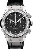 Hublot 521.NX.1171.LR.1104 Classic Fusion titanium and alligator leather watch