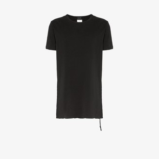 Ksubi black Seeing Lines cotton T-shirt