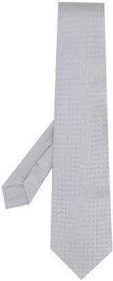 Hermes Pre-Owned 2000's jacquard H logo tie