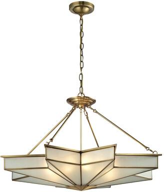 Artistic Home & Lighting Decostar 8-Light Pendant