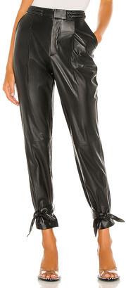 Alice + Olivia Ivette Leather Pant