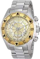 Invicta Men's 11006 Excursion Analog Display Swiss Quartz Silver Watch