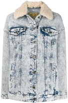 MICHAEL Michael Kors acid wash denim jacket