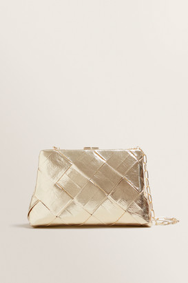 Seed Heritage Weave Frame Clutch