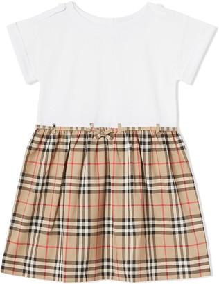 BURBERRY KIDS Vintage Check dress