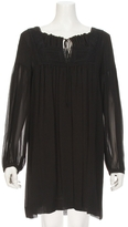See by Chloe Embroidered Silk Dress