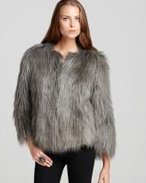GUESS Felicia Faux Fur Jacket