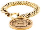 Chanel Rue Cambon Medallion Charm Bracelet