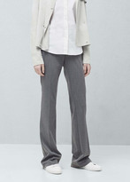 Mango Outlet Straight suit trousers