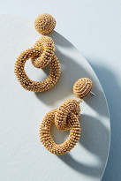 Suzanna Dai Double Hoop Drop Earrings