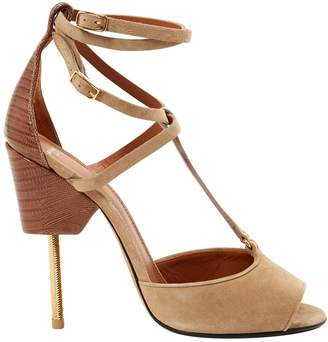 Givenchy Beige Suede Sandals