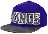 adidas Sacramento Kings Undertone Snapback Cap