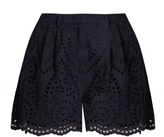 Zimmermann Broderie-anglaise cotton shorts