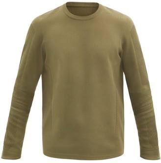 Descente Capsule Technical-knit Sweater - Khaki