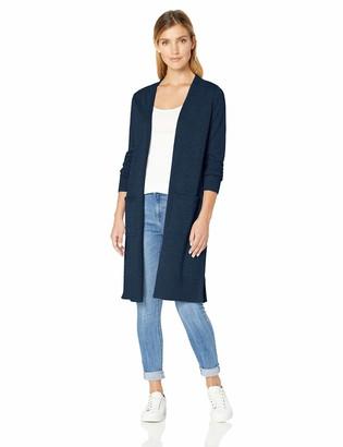 Amazon Essentials Women's Lightweight Long-Sleeve Longer Length Cardigan Sweater