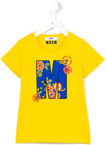 MSGM printed T-shirt - kids - Cotton - 4 yrs