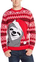 Alex Stevens Men's Slothy Christmas Sweater
