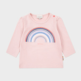 Paul Smith Baby Girls' Pink Rainbow Print 'Malvina' Top