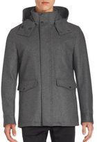 Cole Haan Long Sleeve Waterproof Coat