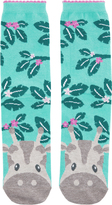 Accessorize Gill Giraffe Face Socks