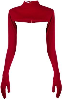 Couture Atu Body glove detail top