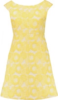 Tory Burch Mariana cotton-blend jacquard mini dress