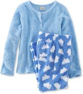 L.L. Bean Girls Sweet Dreams Fleece PJs Set