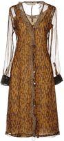 Alberto Biani Knee-length dresses