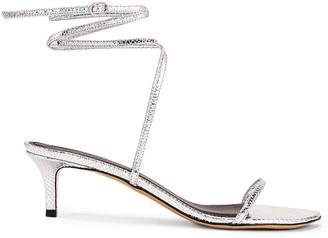 Isabel Marant Aridee Sandal in Silver | FWRD