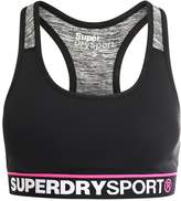 Superdry Sports bra black/speckle charcoal