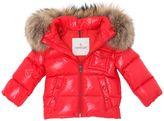 Moncler K2 Hooded Nylon Down Jacket
