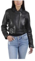 Frame Women's Crop Moto Jacket