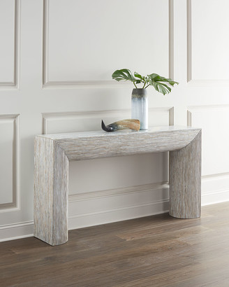 Hooker Furniture Lissardi Marble-Top Console Table