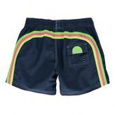 Sundek Plain, Tri-colour Band Swimming Shorts
