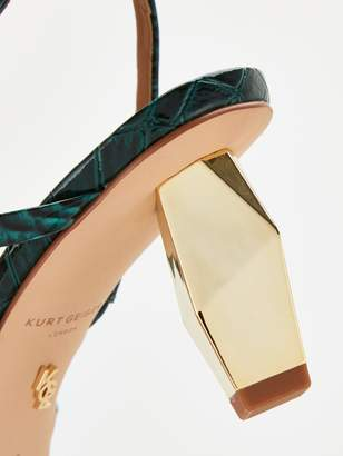 Kurt Geiger London Della Sling Heeled Shoes - Dark Green