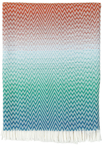 Missoni Terrell Fringed Wool Jacquard Throw