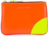 Comme des Garcons colour blocked zipped purse