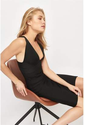 Dynamite Bandage Bodycon Dress - Final Sale Jet Black