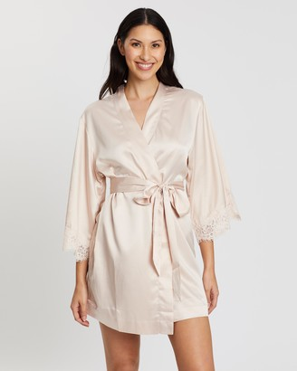 Homebodii Juliette Bridesmaid Embroidered Robe