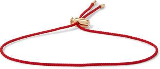 Luis Morais 14-Karat Gold Cord Bracelet