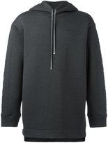 Helmut Lang classic hoodie - men - Polyester/Spandex/Elastane/Rayon - S