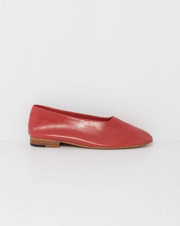 Martiniano Red Glove Flats