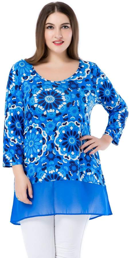 2ced8daea09 Plus Size Tunic Tops - ShopStyle Canada