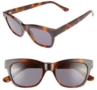 Dune D'Blanc 51mm Rectangle Sunglasses
