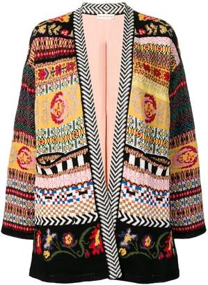 Etro multi-pattern cardigan