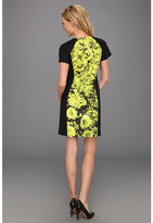 MICHAEL Michael Kors English Garden Short Sleeve Zip Dress